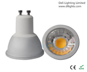 Dimmable 6W COB GU10 LED Spot Light