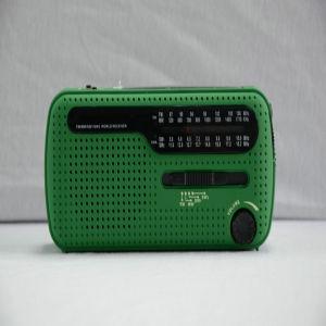 Mini di alta qualità solare di Crank Radio ( HT - 555 )