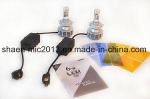 Super brillante 3000LM 3s faros LED G6 3000K 4300K 6000K 8000K