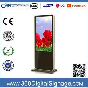 42-дюймовый HD НАПОЛЬНЫЕ ЖК-дисплей для использования внутри помещений реклама отображения видео в сети 3G/WiFi для цепи магазинов