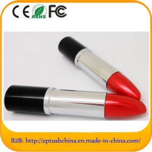高速口紅デザイン金属のプラスチックUSBのフラッシュディスク(EM608)