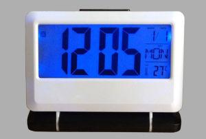 大きいスクリーンの置時計(K2116)