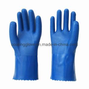 Los EPI de Trabajo Industrial Industria recubierto de PVC guantes de seguridad Guantes de trabajo