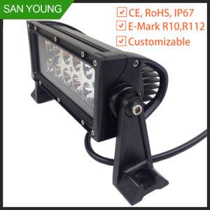 La barre de feux de travail del 36W Cheap 4X4 de l'éclairage automobile conduite hors route