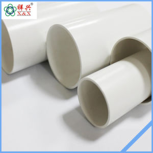 Mejor calidad de 200mm tubo de agua de PVC plástico