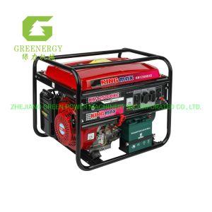 Kingmax 5 КВА портативные бензиновые генераторной установки с ключом запуска из загорится зеленый индикатор питания