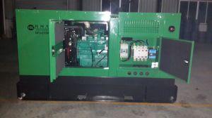 125kVA Groupe électrogène Diesel quatre temps silencieuse avec moteur Cummins 6BTA5.9-G2