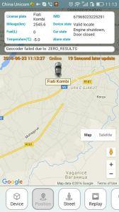 Veicular Rastreador Tracker GPS con el software de GPS (MT05-KW).