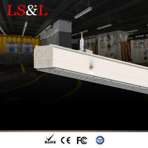 屋内照明のためのLEDの線形シャンデリアの天井によって中断される吊り下げ式ライト