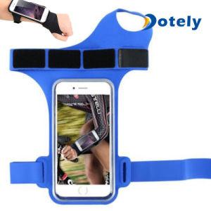 Poche courante de téléphone de bande de bras de qualité