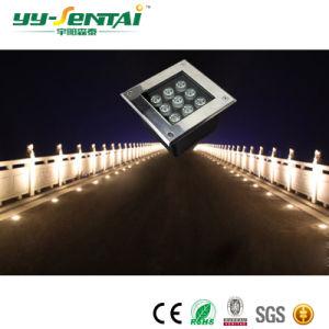 3W正方形IP67 LEDの地下ライト