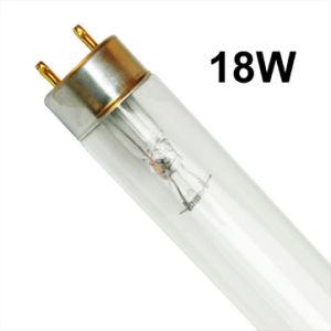 18W T8 Tube de quartz de désinfection UV Lampe/lampe germicide
