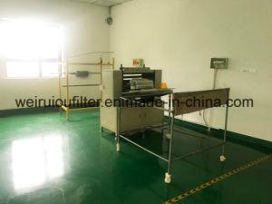 As máquinas de produção de linhas de tomada de Máquina de Dobragem pregueamento do Filtro de Ar
