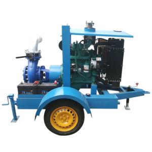 Pompa ad acqua montata rimorchio di drenaggio del motore diesel del dispositivo di raffreddamento di acqua