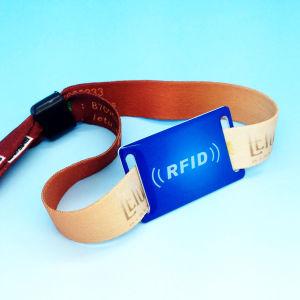 反標準的なイベントの祝祭が編まれたリスト・ストラップを除去するRFID NFC MIFAREをカスタム設計しなさい