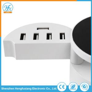 Bewegliche weiße Tischplattenaufladeeinheit 5V/8A 10 Port-USB-Adapter