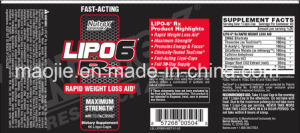 Nutrex Lipo 6 Rx schnelle Gewicht-Verlust-Pillen