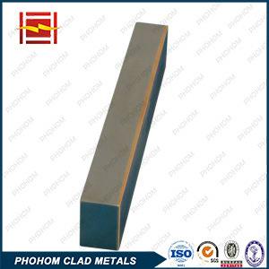 Aço inoxidável Bimetal cobre folheada de material do eletrodo