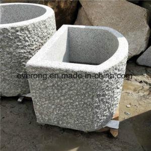 Het natuurlijke Antieke Graniet van het Bassin van de Steen van de Gootsteen door met struik-Gehamerde Oppervlakte