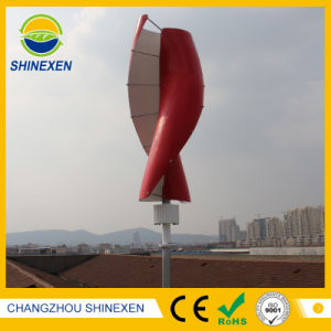 Малые 100W 12V/24V вертикальной оси ветровых генераторов в трех цветах