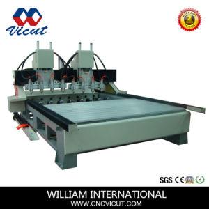 8 Spindel CNC-Holzbearbeitung-Drehmittellinien-Maschine (VCT-2512R-8H)