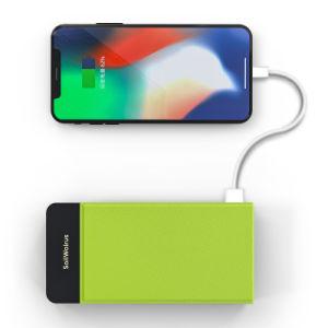 2018 La carga rápida de la estación de cargador portátil barato del banco de energía inalámbrica para el teléfono celular