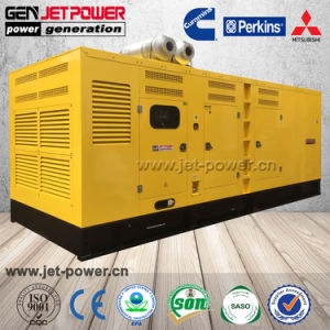 3段階の出力800kVA 640kw防音のディーゼル発電機1000kVA 800kw