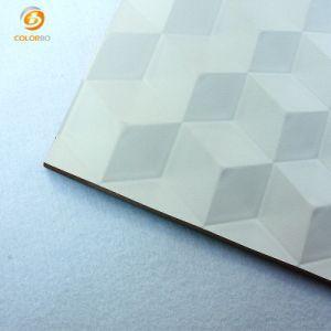 El lujo de Mdf de 3D del panel de la Decoración de pared