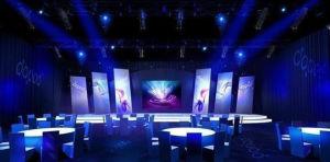 P7mm Affichage LED couleur intérieure pour la publicité (stade affichage LED)