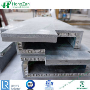 Des pierres de granite de panneaux composites alvéolaire en aluminium pour panneau de mur extérieur