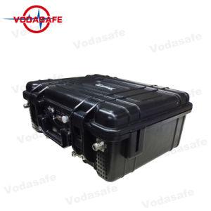 Señal de teléfono móvil High-Power Jammer Bloqueo para controles remotos/GPSL1/GPSL2/GPSL5