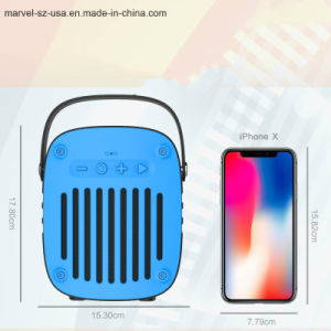 高い音質の無線小型携帯用スピーカー