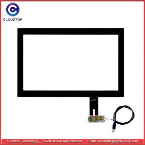 """18.5 """" Ecran tactile capacitif projetée avec carte de contrôleur USB à partir d'Ilitek"""