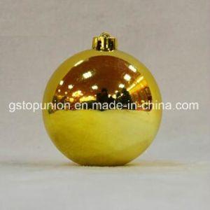 Glänzende Beutel-Kugel-Weihnachtsdekoration S6-Gp des Weihnachtsflitter-OPP