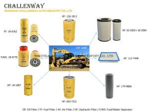 ディーゼル発電機のための幼虫1r-0762 1r-0770の燃料か水フィルター分離器