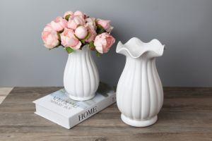 6人のヘッドシャクヤク、シャクヤクの花、装飾的な人工花、擬似ピンクの花、ピンクの人工花の束