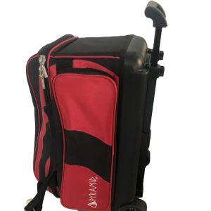 Rodillo de boliche de moda personalizada Bolsa 2 Rodillos de bola de Bowling Bag Bolsa Triple con ruedas