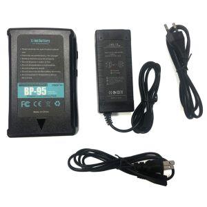 177Wh (12000mAh/14,8V) montar la batería y cargador de batería de bloqueo de V para cámaras de vídeo Videocámara con D-tap (no para la serie roja) el 1 de comprador