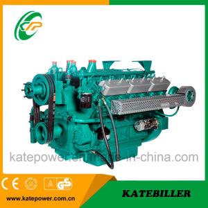 6 de Gekoelde Dieselmotor 382kw Kt16g571tld van de cilinder Water