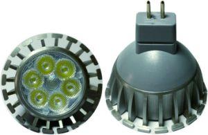 AC220V DC12V 6W LED Birne des Scheinwerfer-GU10 MR16 LED