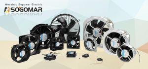 Irradiando Fan 172x150x51mm 48V DC Impulsores de plástico