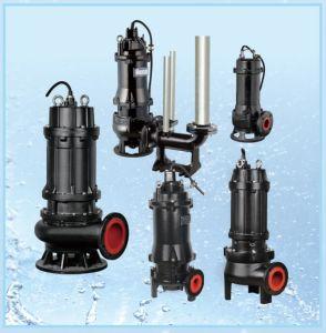 Usage intensif des eaux usées submersible de coupe antibourrage pompe pour la boue et des eaux usées Boue (WQ)