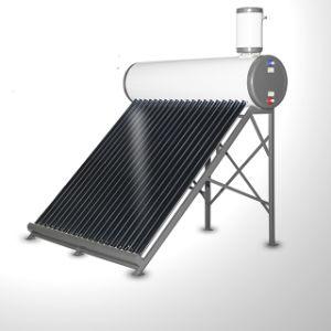 58*1800mmのガラス管が付いている太陽給湯装置システム非圧力をかけられた太陽熱湯ヒーター