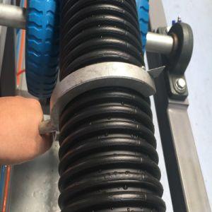 Gewölbte Rohr-Strangpresßling-Plastikzeile für pp.-PET-Kurbelgehäuse-Belüftung