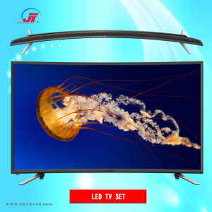 4K curvo 55inch UHD LED astuto TV (ZHD-550C-US)