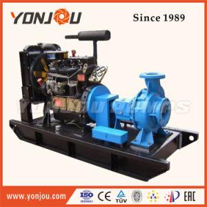 Центробежный насос настроен на базе дизельного двигателя