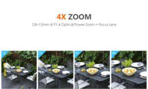 Weerbestendige 1080P 2 4X IP van de Koepel van WiFi PTZ van het Gezoem Megapixel OpenluchtCamera