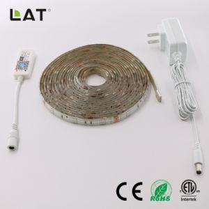 Il lavoro flessibile astuto dell'indicatore luminoso di striscia di DC12V IP65 WiFi SMD 5050 il RGB 5m 30LEDs LED con l'eco permette a Alexa