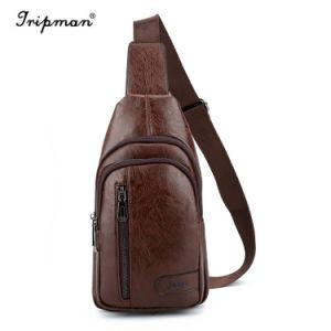 PUの革人のメッセンジャー袋の十字の遺体袋のショルダー・バッグ