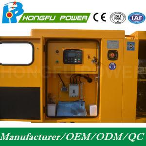 22kw 28kVA Cummins Dieselgenerator-Set mit galvanisiertem Kabinendach